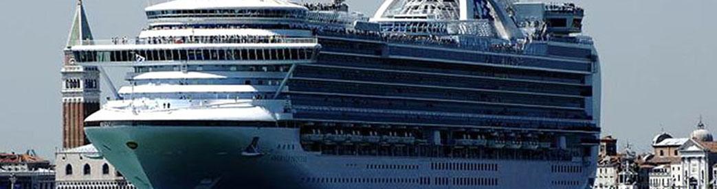 Kreuzfahrtschiff Venedig l